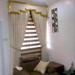 Royal Curtain With Supper Window Blinds | Home Accessories for sale in Lagos State, Lekki
