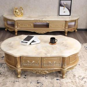 Table and Tv Stand Wooden Mable To | Furniture for sale in Lagos State, Ojo