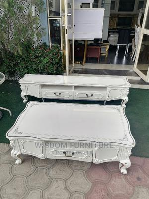 Table and Tv Stand Glass Top | Furniture for sale in Lagos State, Ojo