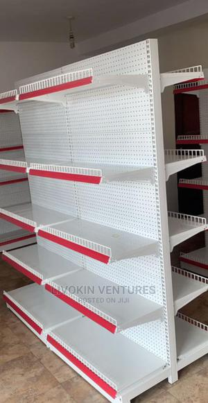 HIGH QUALITY Supermarket Shelf Double Face | Store Equipment for sale in Lagos State, Ojo
