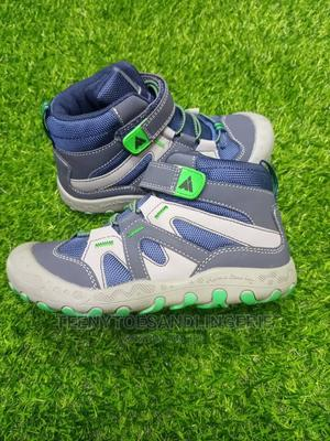 Blue and Ash High Top Sneakers | Children's Shoes for sale in Lagos State, Lagos Island (Eko)