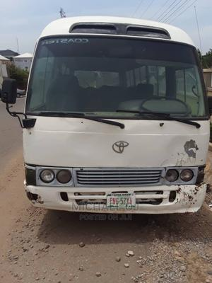 Toyota Coaster 2005 White For Sale | Buses & Microbuses for sale in Abuja (FCT) State, Gwarinpa