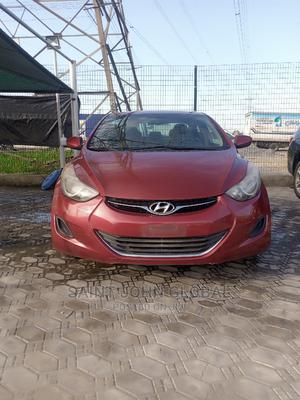 Hyundai Elantra 2013 Red   Cars for sale in Lagos State, Victoria Island