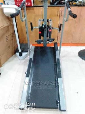 Manual Treadmill With Stepper and Twister   Sports Equipment for sale in Lagos State, Surulere