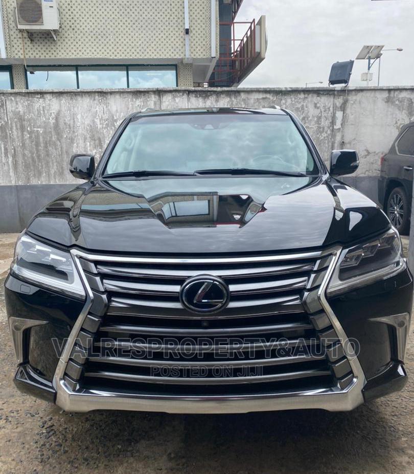 Lexus LX 2015 570 Base Black