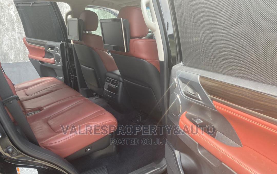 Lexus LX 2015 570 Base Black | Cars for sale in Victoria Island, Lagos State, Nigeria