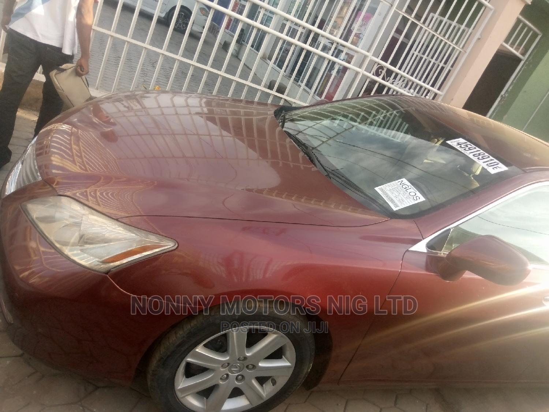 Archive: Lexus ES 2008 350 Red