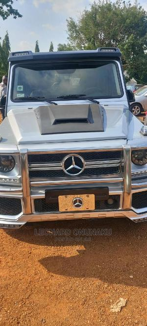 Mercedes-Benz G-Class 2007 Base G 500 AWD Silver | Cars for sale in Abuja (FCT) State, Gwarinpa