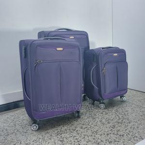 Portable Purple Swiss Polo Trolley Luggage Bag   Bags for sale in Lagos State, Ikeja