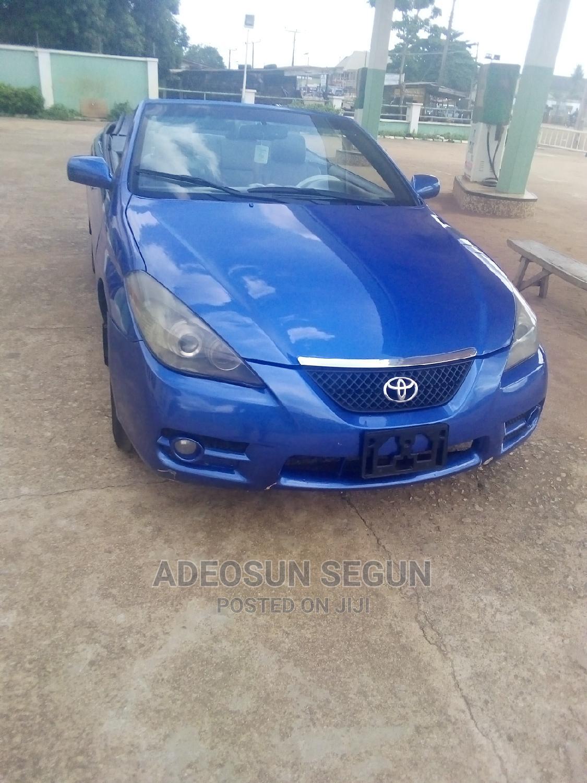 Toyota Solara 2008 3.3 Convertible Blue