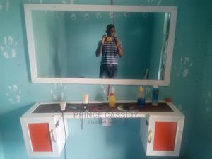 Barbing Mirror and Cupboard for Sale   Salon Equipment for sale in Akwa Ibom State, Abak
