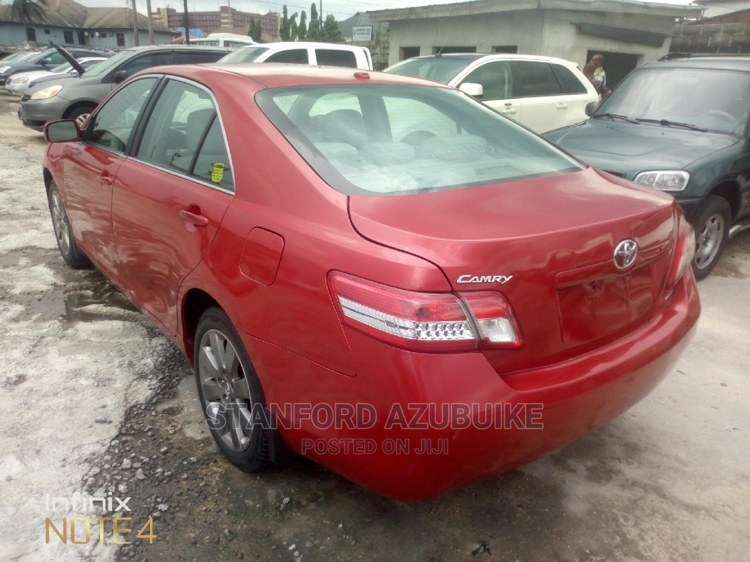 Toyota Camry 2011 Red   Cars for sale in Port-Harcourt, Rivers State, Nigeria