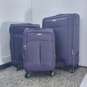 3 Set Unisex Purple Swiss Polo Luggage Bag   Bags for sale in Lagos State, Ikeja