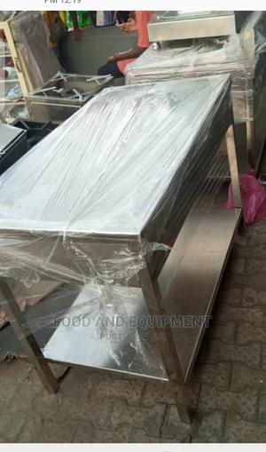 Manufactured 4feet Stainless Table   Restaurant & Catering Equipment for sale in Lagos State, Lagos Island (Eko)