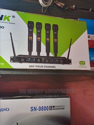 Original 4in1 Wireless Microphones | Audio & Music Equipment for sale in Lagos State, Ojo