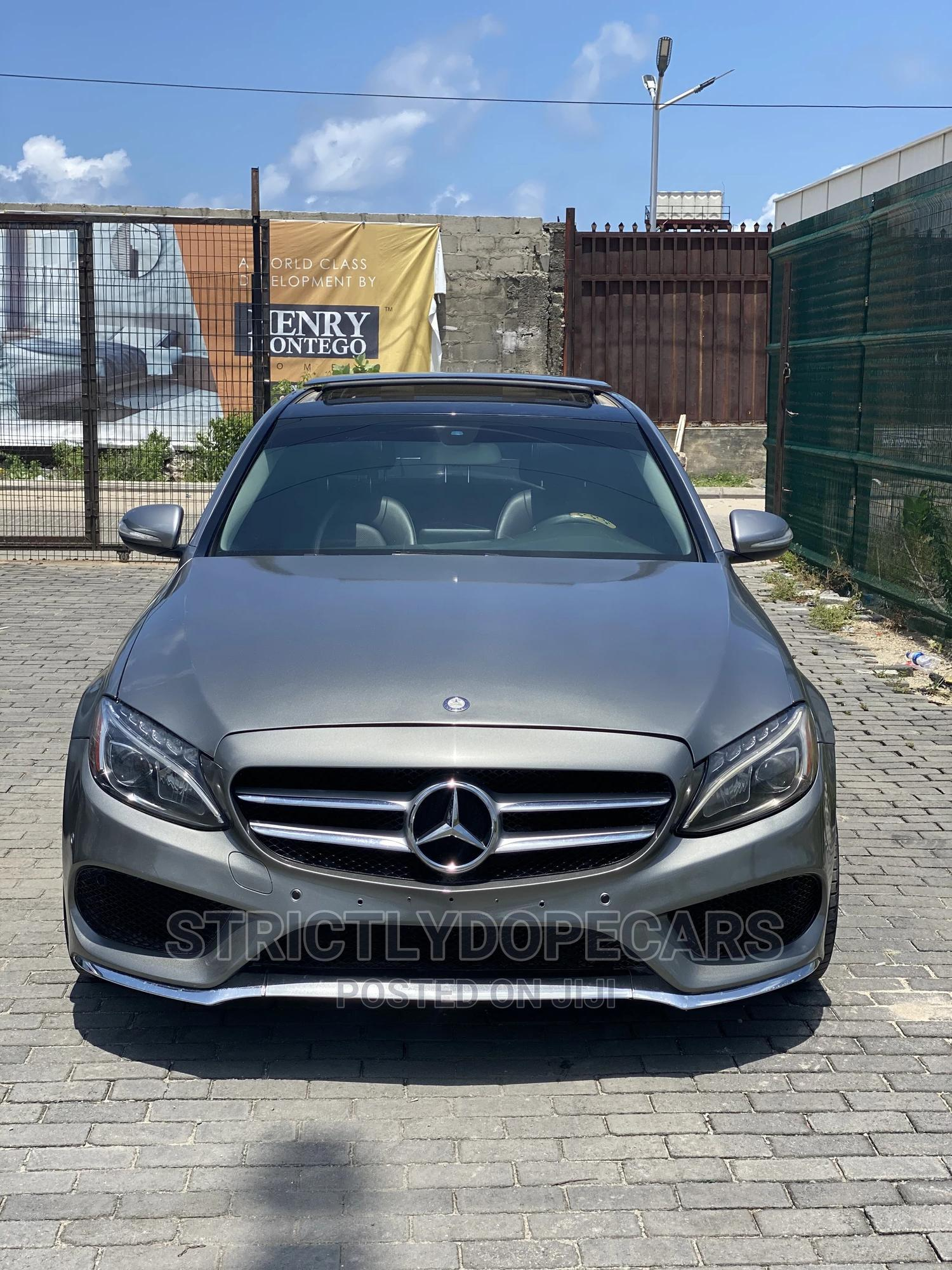Archive: Mercedes-Benz C300 2015 Gray