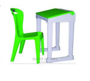 Graduate Plastic Flip Top Desk Only   Furniture for sale in Lagos State, Alimosho