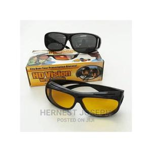 2-In-1 HD Night Vision Polarized Unisex Driving Glasses | Safetywear & Equipment for sale in Abuja (FCT) State, Wuse