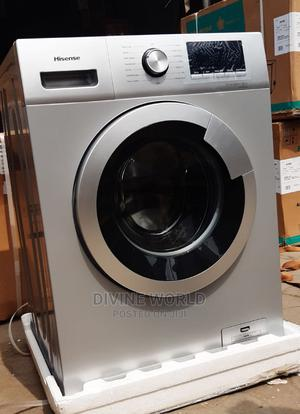 Hisense Front Load 8kg Automatic Washing Machine Original | Home Appliances for sale in Lagos State, Apapa