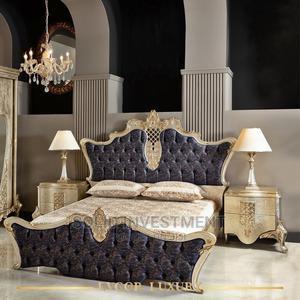 6/7 Turkish Standard Executive Royal Complete Bed Frame   Furniture for sale in Lagos State, Lekki
