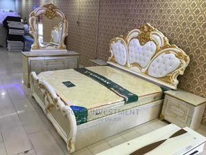 6/7 Executive Royal Bed Frame Complete Set   Furniture for sale in Lagos State, Lekki
