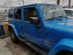 Jeep Wrangler 2013 Unlimited Sahara Blue | Cars for sale in Lagos State, Ikeja