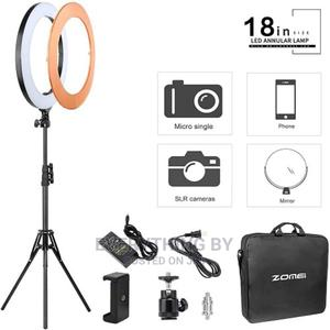 """18"""" Extremely Bright Ring Light With Batteries 