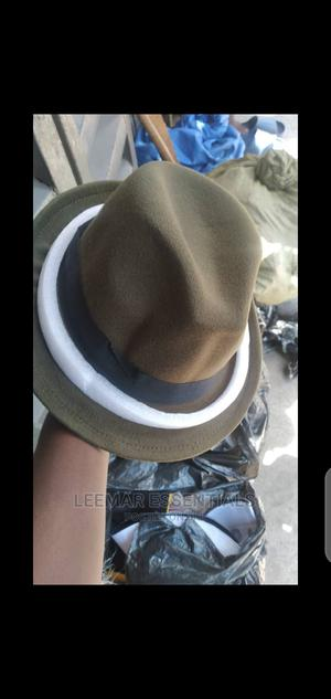 Army Green Fedora Hat( Short Brim)   Clothing Accessories for sale in Lagos State, Surulere