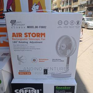Rechargeable Telescope Table Fan | Home Appliances for sale in Lagos State, Lagos Island (Eko)