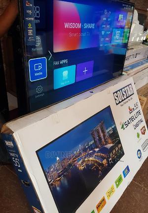 "New Solstar Android Smart Satellite 4K TV(55""Inch) Netflix   TV & DVD Equipment for sale in Lagos State, Lagos Island (Eko)"