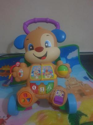 Fisherprice Laugh N Learn Puppy Push Walker | Children's Gear & Safety for sale in Lagos State, Ikeja