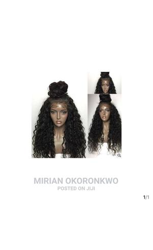 Fashion Flurry Long Curly Lace Frontal Synthetic Wig   Hair Beauty for sale in Cross River State, Calabar