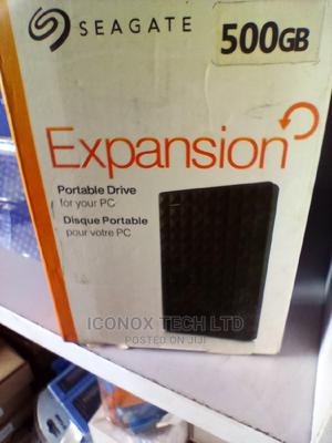 Seagate External USB Hard Drive 500GB   Computer Accessories  for sale in Lagos State, Ikeja