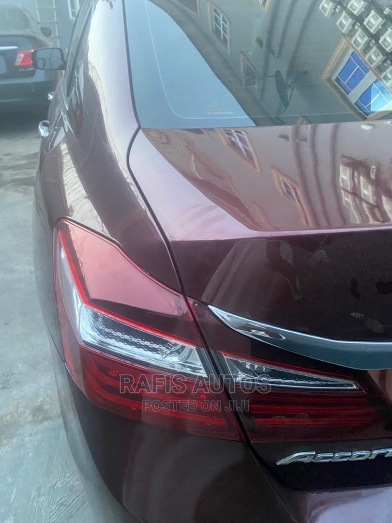 Honda Accord 2014 Red   Cars for sale in Surulere, Lagos State, Nigeria