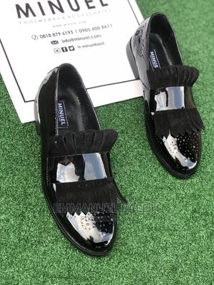 Black Patient in Loafera With Suede Glap | Shoes for sale in Lagos State, Mushin