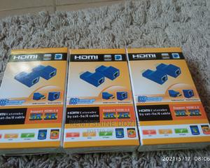 Hdmi External by Cat -5e/6 Cable   Computer Accessories  for sale in Lagos State, Ikeja