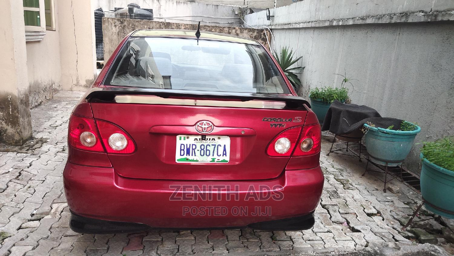 Archive: Toyota Corolla 2005 S Red