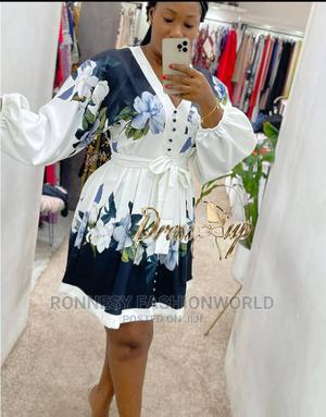 Classic Trendy Female Quality Short Flare Gown | Clothing for sale in Lagos State, Ikeja