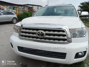 Toyota Sequoia 2008 White   Cars for sale in Lagos State, Amuwo-Odofin