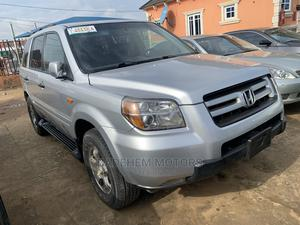 Honda Pilot 2006 LX 4x2 (3.5L 6cyl 5A) Silver | Cars for sale in Lagos State, Alimosho