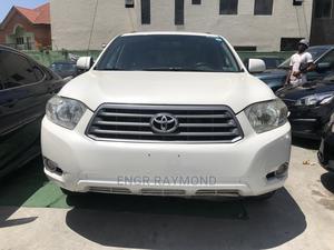 Toyota Highlander 2008 White   Cars for sale in Lagos State, Lekki