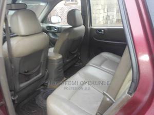 Hyundai Santa Fe 2005 GLS 3.5 L Red | Cars for sale in Lagos State, Ikorodu