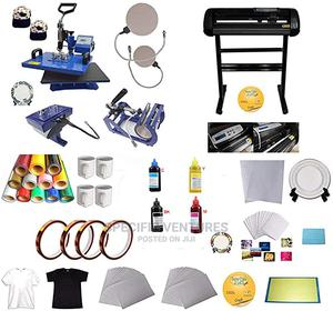 Heat Transfer Machines and Vinyl Cutting Plotters Inks   Printing Equipment for sale in Lagos State, Ikeja