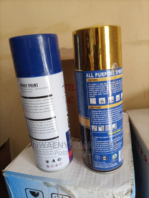 Black Spray Paint   Building Materials for sale in Lagos Island (Eko), Lagos State, Nigeria