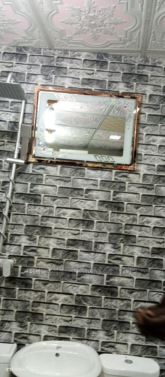 Mirror With Frame Round It | Home Accessories for sale in Orile, Lagos State, Nigeria