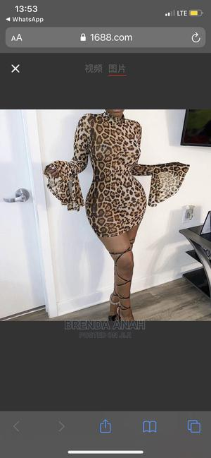 Animal Prints Gown   Clothing for sale in Rivers State, Port-Harcourt
