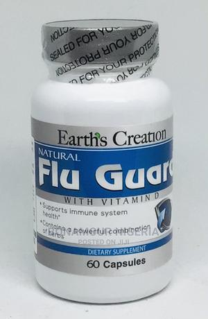 Earth's Creation Natural Flu Guard With Vitamin D - 60 Caps | Vitamins & Supplements for sale in Lagos State, Ipaja