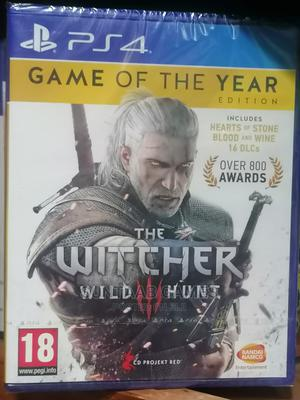The Witcher 3 Game of the Year Edition (PS4)   Video Games for sale in Lagos State, Lagos Island (Eko)