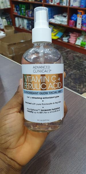 Advanced Clinicals Vitamin C + Ferulic Acid Glow Face Mist | Skin Care for sale in Lagos State, Surulere