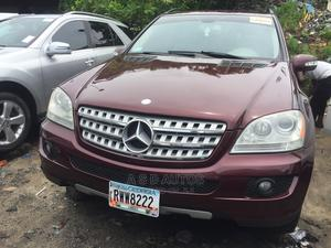 Mercedes-Benz M Class 2008 ML 350 4Matic Red   Cars for sale in Lagos State, Amuwo-Odofin